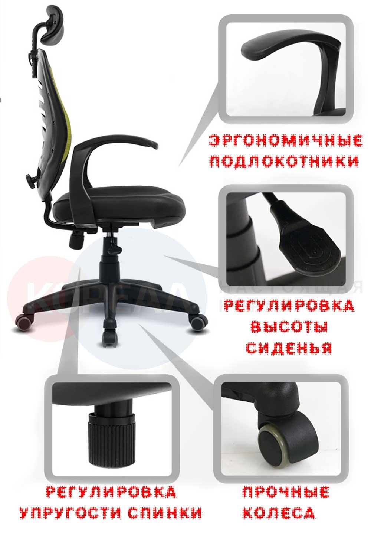 лучший ортопедический стул цена