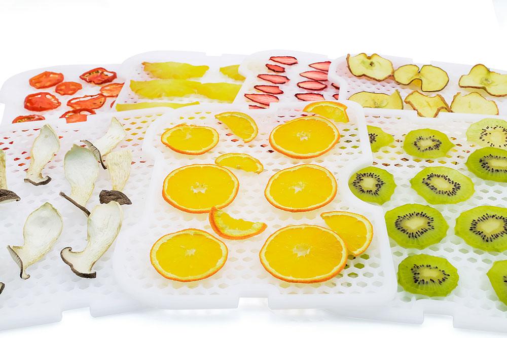 как высушить фрукты и овощи