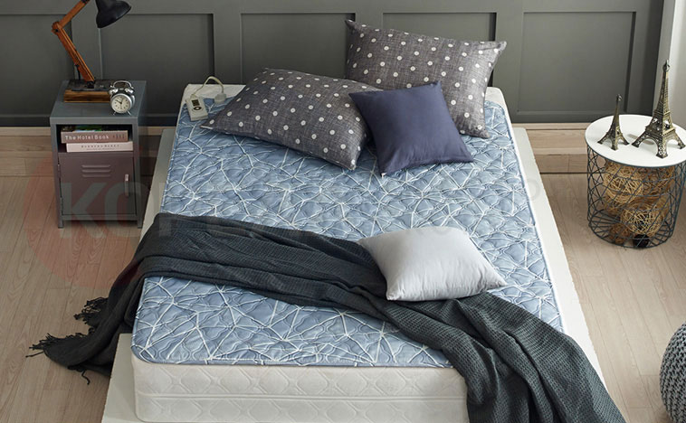 электроматрас на двухспальной кровати